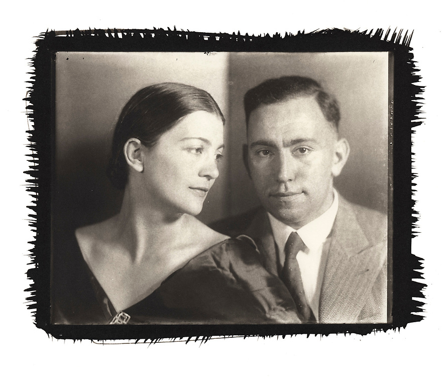 A portrait of my grandparents in Prague in the 1920s. Printed using the platinum/palladium process from the original 8x10 glass plates.