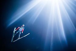 06.01.2015, Paul Ausserleitner Schanze, Bischofshofen, AUT, FIS Ski Sprung Weltcup, 63. Vierschanzentournee, Finale, im Bild Simon Ammann (SUI) // Simon Ammann of Switzerland during Final Jump of 63rd Four Hills <br /> Tournament of FIS Ski Jumping World Cup at the Paul Ausserleitner Schanze, Bischofshofen, Austria on 2015/01/06. EXPA Pictures © 2015, PhotoCredit: EXPA/ JFK