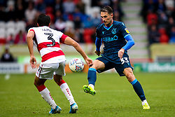 Alex Rodman of Bristol Rovers takes on Reece James of Doncaster Rovers - Mandatory by-line: Robbie Stephenson/JMP - 19/10/2019 - FOOTBALL - The Keepmoat Stadium - Doncaster, England - Doncaster Rovers v Bristol Rovers - Sky Bet League One
