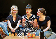 Hatched 'n' Dispatched <br /> by Gemma Page and Michael Kirk<br /> World Premier <br /> at the Park Theatre, London, Great Britain <br /> press photocall <br /> 2nd September 2015 <br /> <br /> <br /> Diana Vickers as Susan Walker <br /> Danielle Flett as Corinne Needham <br /> Vicky Binns as Madeleine Kershaw<br /> <br /> <br /> <br /> <br /> Photograph by Elliott Franks <br /> Image licensed to Elliott Franks Photography Services