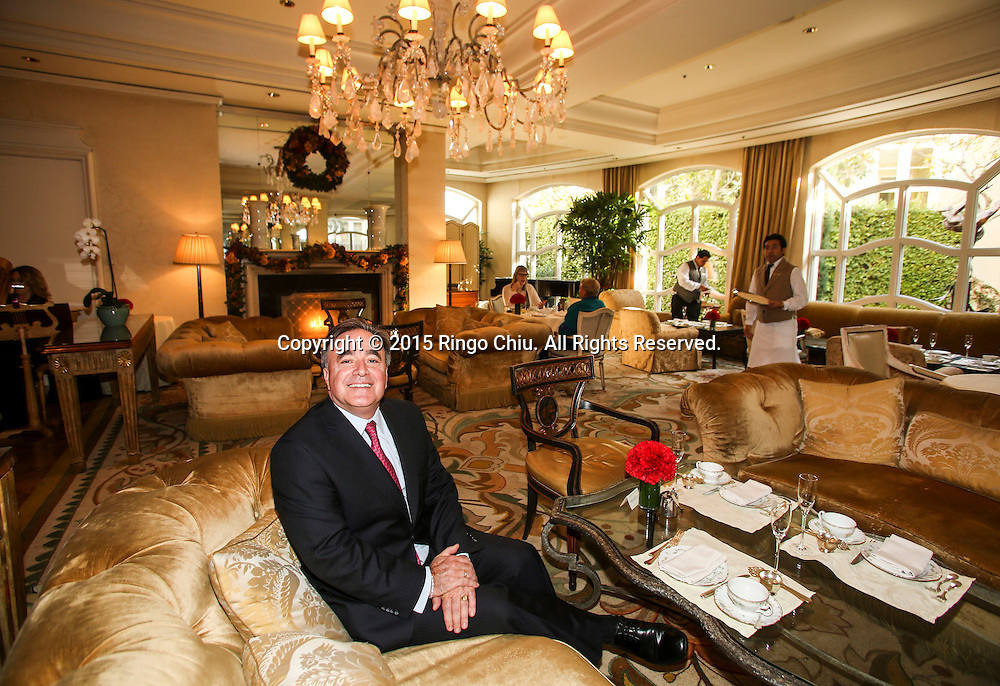 Offer Nissenbaum, manager of Penninsula Beverly Hills hotel.  (Photo by Ringo Chiu/PHOTOFORMULA.com)<br /> <br /> Usage Notes: This content is intended for editorial use only. For other uses, additional clearances may be required.