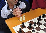 Roma (Italy), 24/03/2010: Corso di scacchi, sezione G14 infermeria del nuovo complesso di Rebibbia - Course of chess, first aid section G14 of the new complex of Rebibbia