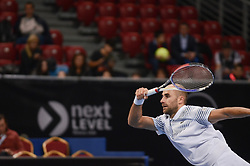 February 7, 2019 - Sofia, Bulgaria - M, cOPIL(rou). M. Copil (ROU) vs F. Verdasco (ESP) during Sofia Open 2019 at Arena Armeec Hall in the Bulgarian capital of Sofia, Bulgaria on February 07, 2019  (Credit Image: © Hristo Rusev/NurPhoto via ZUMA Press)