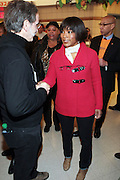 New York, NY- January 16- Actress Angela Bassett at the New York City Service Program in Honor of Martin Luther King Jr. Day held at the Mirabel Sisters Campus in West Harlem, New York City. Photo Credit: Terrence Jennings