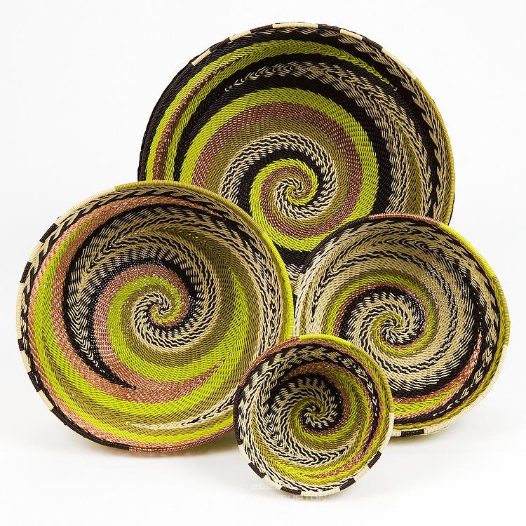 Group Bowl; Green metallic