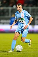 Bilal HAMDI  - 26.01.2015 - Angers / Brest - 21eme journee de Ligue 2 -<br /> Photo : Vincent Michel / Icon Sport