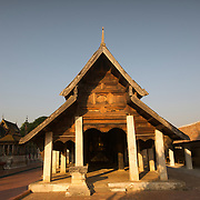 The Wiharn Nam Tan at Wat Phra Tat Lampang Luang, Lampang, Thailand.