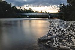Most med Dokležovjem in Veržejem Slovenije 2019/20, on Avgust 1, 2019 in Veržej, Murska Sobota, Slovenia. Photo by Blaž Weindorfer / Sportida