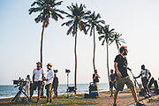 The filming of 'Gold Coast', directed by Daniel Dencik and starring Jakob Oftebro, Danica Curcic, Anders Heinrichsen and others. Credit: HEIN Photography