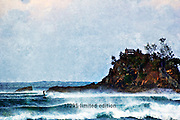 The Pass Byron Bay<br /> (limited edition of 40)<br /> 1.5M x 1M