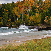 """Autumn Color and Waves""<br />