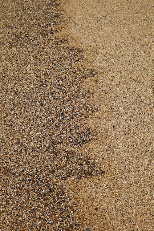 Sand Patterns (Diseños naturales en la arena). Dhail Mor Beach. Lewis island. Outer Hebrides. Scotland, UK