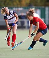 HUIZEN/NAARDEN - 2017 Hoofdklasse dames<br /> Huizer HC  vs Nijmegen 3-1<br /> Foto: Mandy Visser.<br /> WORLDSPORTPICS COPYRIGHT FRANK UIJLENBROEK