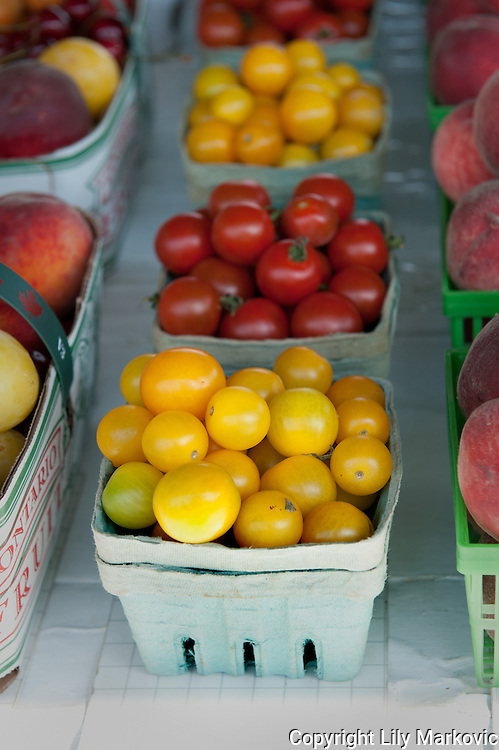 Cherry Tomatoes, Yellow and Red