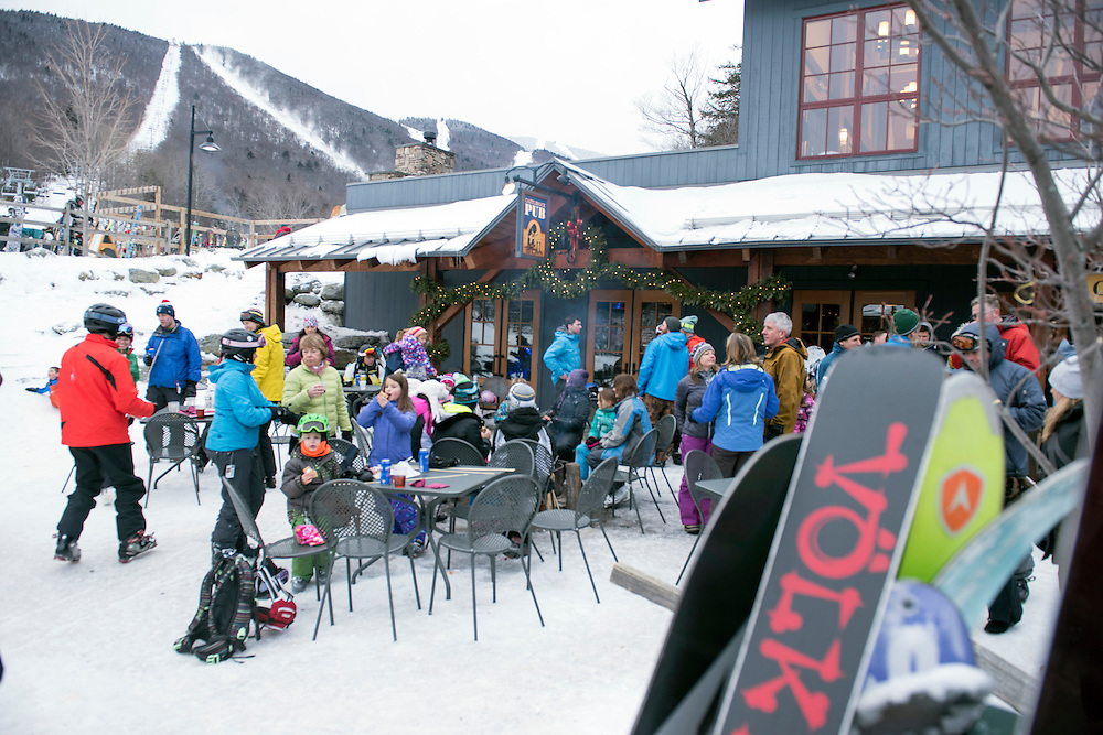 Sugarbush Resort offers a wide variety of terrain for skiers and snowboarders alike. Vermont's Mad River Valley has great ski areas, dining, shopping and a strong sense of community. (Caleb Kenna for the New York Times)