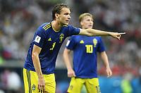 Albin Ekdal (Schweden)<br /> Sotschi, 23.06.2018, FIFA Fussball WM 2018 in Russland, Vorrunde, <br /> Tyskland - Sverige<br /> <br /> Norway only