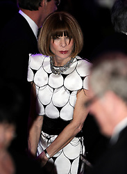 Anna Wintour attends the Prime Minister David Cameron and President Obama  Official dinner at the White House,Washington, Wednesday March 14, 2012 . Photo By Andrew Parsons/ i-Images
