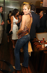 TANIA BRYER at a party to celebrate the publication of 'The Russian House' by Ella Krasner held at De Beers, 50 Old Bond Street, London W1 on 9th June 2005.<br /><br />NON EXCLUSIVE - WORLD RIGHTS