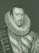 Philip Howard, Earl of Arundel (1557-1595)  English nobleman. He professed Roman Catholicism in 1584, was fined and imprisoned and died in the Tower of London. Engraving after portrait by Zucchero.