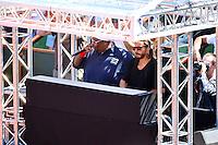 Big ALI / Bob SINCLAIR - 23.05.2015 - Tennis - Journee des enfants - Roland Garros 2015<br /> Photo : David Winter / Icon Sport