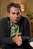 2008, BERLIN/GERMANY:<br /> Martin Varsavsky, argentinischer Unternehmer und Geschaeftsfuehrer und Gruender von FON, waehrend einem Interview, Restaurant Shiro I Shiro<br /> IMAGE: 20081020-04-006