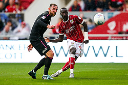 Famara Diedhiou of Bristol City scores a goal to make it 4-1 - Rogan/JMP - 16/09/2017 - Ashton Gate Stadium - Bristol, England - Bristol City v Derby County - Sky Bet Championship.