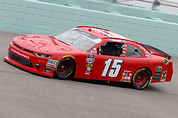November 16, 2018 - Homestead, FL, U.S. - HOMESTEAD, FL - NOVEMBER 16: Quin Houff driver of the #15 teamjdmotorsports.com Chevy, during practice for the NASCAR Xfinity Series playoff race, the Ford EcoBoost 300 on November, 16, 2018, at Homestead - Miami Speedway in Homestead, FL. (Photo by Malcolm Hope/Icon Sportswire) (Credit Image: © Malcolm Hope/Icon SMI via ZUMA Press)