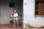 Couple in Holguin, Cuba.