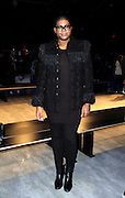 EJ Johnson attends the Charlotte Ronson presentation during the Mercedes-Benz Fall/Winter 2015 shows at the Pavilion in Lincoln Center in New York City, New York on February 13, 2015.