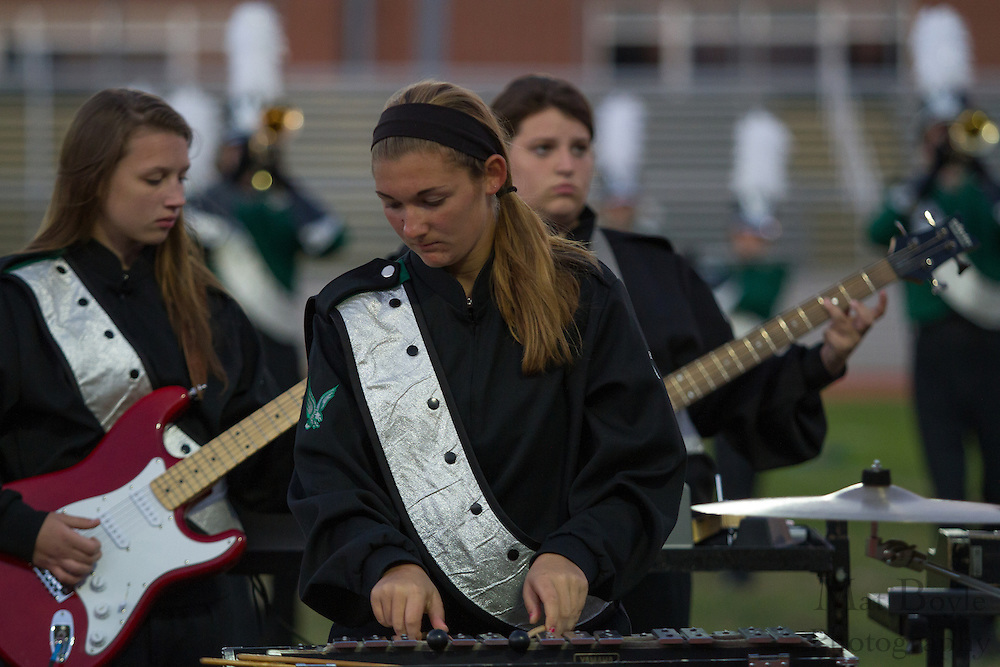 West Deptford High School's marching band performs at the South Jersey Chapter Championships held at Clearview High School on Sunday October 21, 2012. (photo / Mat Boyle)