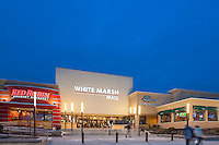 Exterior Image of Whitemarsh Mall in Baltimore by Jeffrey Sauers of Commercial Photographics In Washington DC, Virginia to Florida and PA to New England