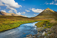 Blackstone River Tombstone Territorial Park Yukon Canada