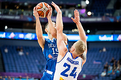 Ioannis Papapetrou of Greece during basketball match between National Teams of Greece and Iceland at Day 1 of the FIBA EuroBasket 2017 at Hartwall Arena in Helsinki, Finland on August 31, 2017. Photo by Vid Ponikvar / Sportida