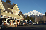 McCloud California is at the foot of Mt. Shasta in Northern California.  The small town started as a lumber town but is now a tourist destination with hotels, golfing and other fun activities.  Mt. Shasta is a 14,179-foot (4,322 m) stratovolcano, is the second-highest peak in the Cascade Range and the fifth highest peak in California. It is a member in the Cascade Volcanic Arc and is located in Siskiyou County. Mount Shasta stands some 10,000 feet (3,000 m) above the surrounding area and is home to a variety to sports including, mountaineering, hiking, fishing, skiing, show-shoeing, snow and many other activities.  Mt. Shasta is a spiritual place for many also.
