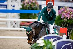 SKRZYCZYNSKI Jaroslaw (POL), Chacclana<br /> Göteborg - Gothenburg Horse Show 2019 <br /> Longines FEI World Cup™ Final II<br /> Int. jumping competition with jump-off (1.50 - 1.60 m)<br /> Longines FEI Jumping World Cup™ Final and FEI Dressage World Cup™ Final<br /> 05. April 2019<br /> © www.sportfotos-lafrentz.de/Stefan Lafrentz