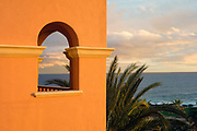 Image of Cabo San Lucas overlooking the Sea of Cortez in Baja California Sur, Mexico