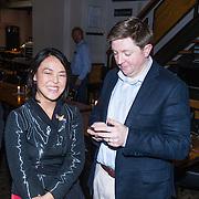 NLD/Amsterdam/20130921 - Uitreiking Awards, harpiste Lavinia Meijer en …………..
