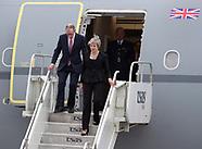 G7 Summit - Arrivals - Quebec 7 June 2018