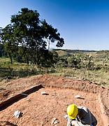 Jeceaba_MG, Brasil...Descoberta arqueologica em Jeceaba, Minas Gerais...The archeological discovery in Jeceaba, Minas Gerais...Foto: JOAO MARCOS ROSA / NITRO