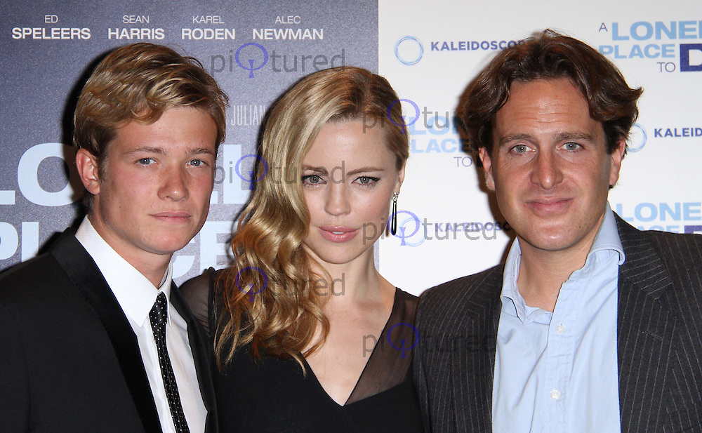 Melissa George; Ed Speleers; Julian Gilbey A Lonely Place to Die UK Premiere, Empire Cinema, Leicester Square, London, UK. 07 September 2011. Contact: Rich@Piqtured.com +44(0)7941 079620 Picture by Richard Goldschmidt