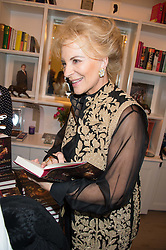 HRH PRINCESS MICHAEL OF KENT at a reception to celebrate the publication of Quicksilver by HRH Princess Michael of Kent held at the home of Richard & Basia Briggs, 35 Sloane Gardens, London on 9th November 2015.