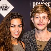NLD/Amsterdam/20170119 - Premiere Brussel, Jason de Ridder en partner