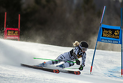 HUDSON Piera of New Zealand competes during the Ladies' GiantSlalom at 56th Golden Fox event at Audi FIS Ski World Cup 2019/20, on February 15, 2020 in Podkoren, Kranjska Gora, Slovenia. Photo by Matic Ritonja / Sportida