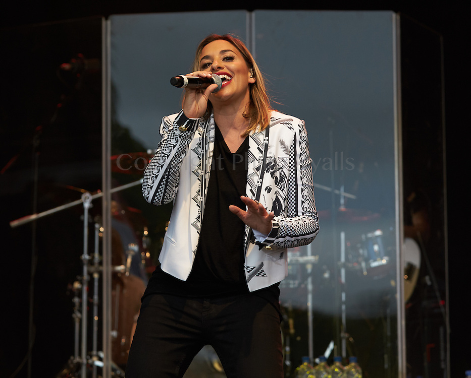 OXFORDSHIRE, UK - JULY 09: All Saints perform on stage at The Cornbury Music Festival on July 9th, 2016 in Oxfordshire, United Kingdom. (Photo by Philip Ryalls)**All Saints
