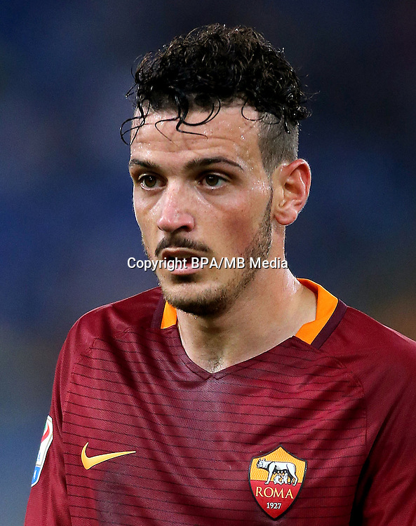 Italian League Serie A -2016-2017 / <br /> ( AS Roma ) - <br /> Alessandro Florenzi