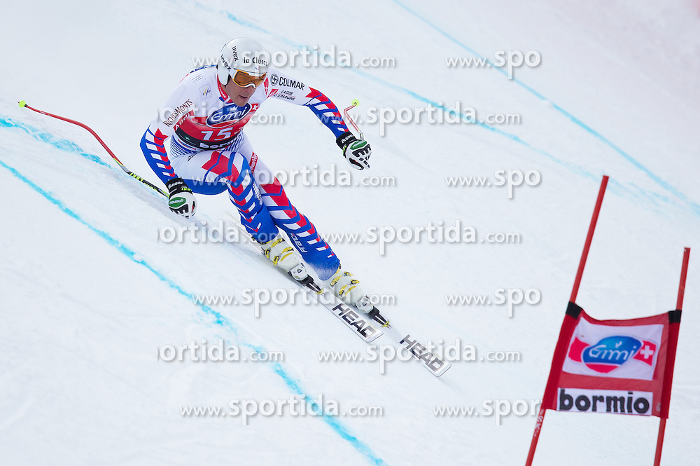 27.12.2012, Stelvio, Bormio, ITA, FIS Weltcup, Ski Alpin, Abfahrt, 1. Training, Herren, im Bild Johan Clarey (FRA) // Johan Clarey of France in action during 1st practice of the mens Downhill of the FIS Ski Alpine Worldcup at the Stelvio course, Bormio, Italy on 2012/12/27. EXPA Pictures © 2012, PhotoCredit: EXPA/ Johann Groder