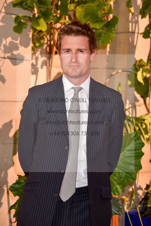 """Tristram Hunt at the opening of """"Frida Kahlo: Making Her Self Up"""" Exhibition at the V&A Museum, London England. 13 June 2018."""