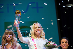 Kaja Bajda at Miss Sports of Slovenia 2015, on April 18, 2015, in Festivalna dvorana, Ljubljana, Slovenia