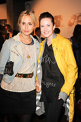 PRINCESS ELISABETH THURN & TAXIS and COUNTESS GIADA DOBRZENSKY at the Launch of Peroni Nastro Azzurro Accademia del Film Wrap Party Tour held atThe Boiler House, 152 Brick Lane, London E1 on 25th August 2010.