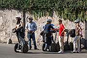 Segway sightseeing tour, Rome, Italy.